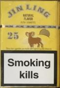 Cigarette wholesale small large Jin-Ling 25 375$ -480 packs