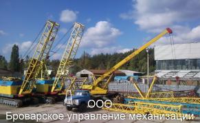 Оренда автокранів по Броварах Київська область