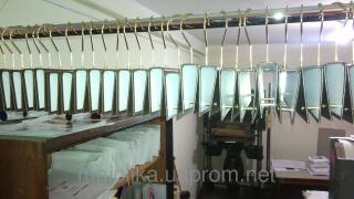 Выставочные вешалки на метал. крючке